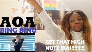 AOA (에이오에이) – Bing Bing (빙빙) MV REACTION [WIG SNATCHED!]