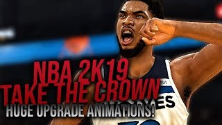 NBA Live 19 Needs To Answer!!! NBA 2K19  - Take The Crown Trailer (REACTION!)