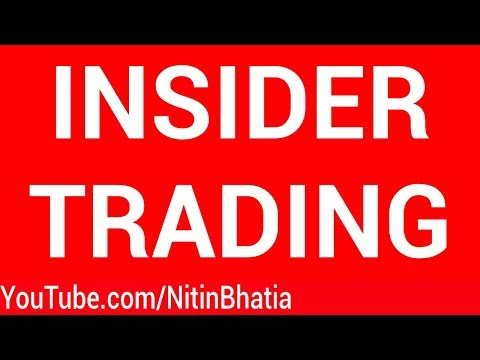 Insider Trading in the Stock Market | HINDI