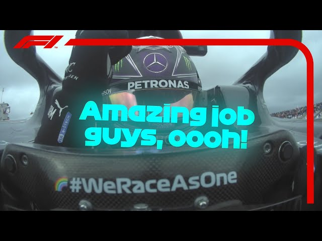 Lewis Hamilton's Cooldown Lap In Full After Record 92nd Win  | 2020 Portuguese Grand Prix