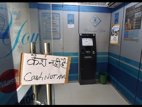 No Cash in ATMs | Nagpur Today