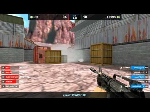 SK vs. LIONS @ nuke map 3