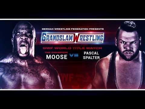 HYPEVIDEO: Moose defends GWF World Title Against Pascal Spalter at GWF Grandslam Wrestling