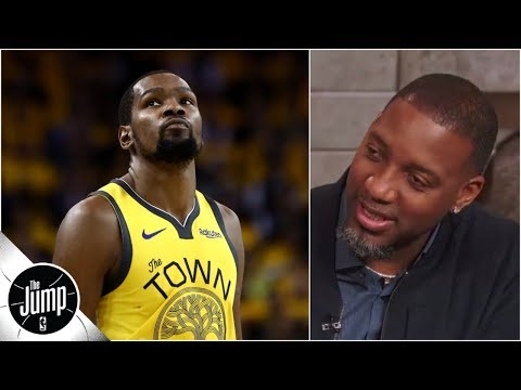 'Where's that bad man?' - Tracy McGrady says Kevin Durant has to show up   The Jump