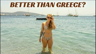 Beaching in Bodrum | Turkey Travel Series