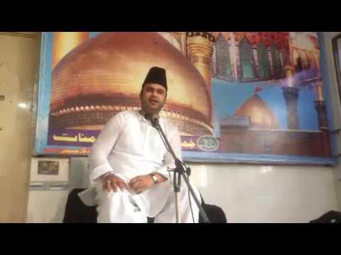 Allama Syed Qasim Abbas Zaidi Multan 4 Moharam Chowk Shah Abbas 2016