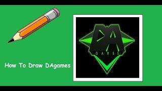 How To Draw DAgames Logo