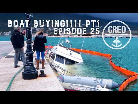 Boat Buying in Greece! Pt1 EP25
