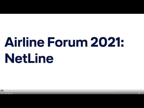 Airline Forum virtual - Dirk Bracklow on the NetLine product family / Lufthansa Systems