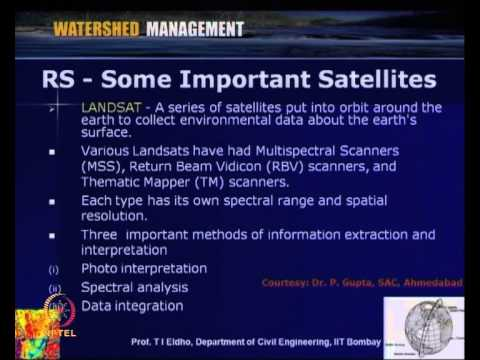 Remote Sensing & Applications In Watershed Management