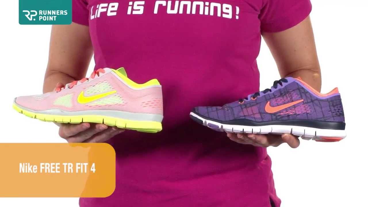 Damen Laufschuhe Fitnessschuhe Nike Free TR Fit 4
