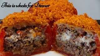 LASAGNA BOMBS |  Stuffed Tomatoes | Tango Spice - Rome is Burning