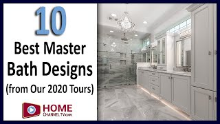 Ten Best Master Bathroom Designs from our 2020 Open House Tours - Interior Design Ideas