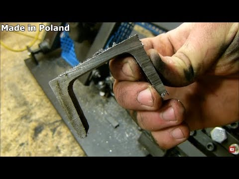 Drill HACK 1 metal cutting BANDSAW  [TEST]