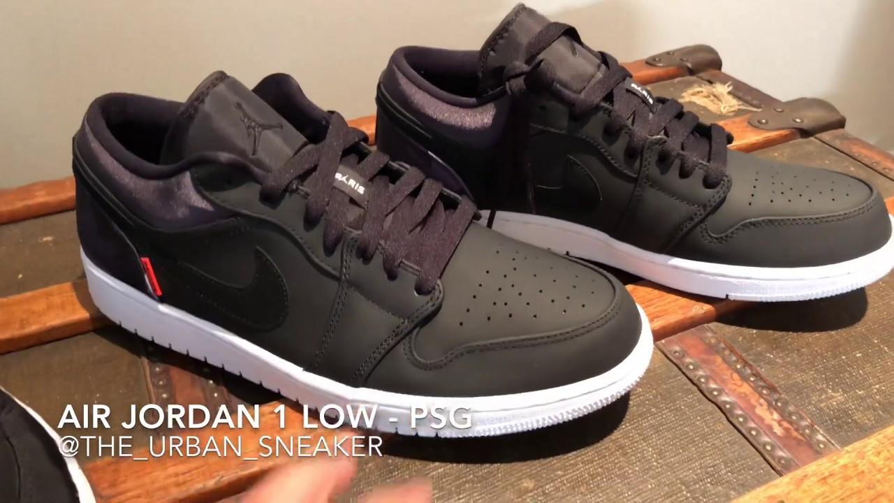 UNBOXING - Air Jordan 1 Low x PSG