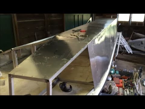 Custom Aluminum Duck Boat Blind Part V Carolina Skiff - YouTube