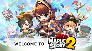MapleStory 2 Official Launch Gameplay
