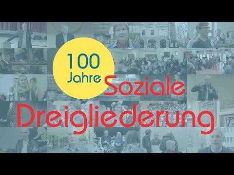 """Wie werden wir den drängenden sozialen Herausforderungen des 21. Jahrhunderts gerecht? Die """"Dreigliederung des sozialen Organismus"""" wurde inspiriert von Rudolf Steiner und setzte sich für eine umfassende gesellschaftliche Neuordnung ein, die auf der Selbstbestimmung mündiger Menschen in allen Bereichen der Gesellschaft beruht.  Was ist diese Dreigliederung und was ist so zukünftig an dieser Idee. Diese 35-minütige Dokumentation zeigt die Interviews und gesammelten Eindrücke der drei Tagungen, sowie die Menschen, Initiativen und Ideen für eine menschlichere Welt von morgen!"""