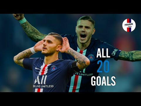 Mauro Icardi - All 20 Goals for PSG - HD
