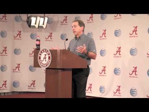 Nick Saban talks LSU, Derrick Henry, Frank Beamer