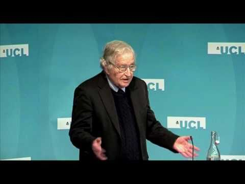 Chomsky: US opposes democracy in Arab world (UCL)