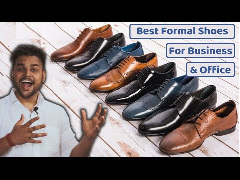 Best Formal Shoes for Men 2021   Office & Business Leather Shoes Bata Red Tape Hush Puppies