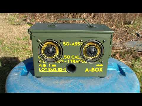 Thodio A-Box Ammo Can Boombox