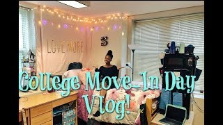 COLLEGE MOVE-IN DAY! |HOWARD UNIVERSITY| SkyPhonese