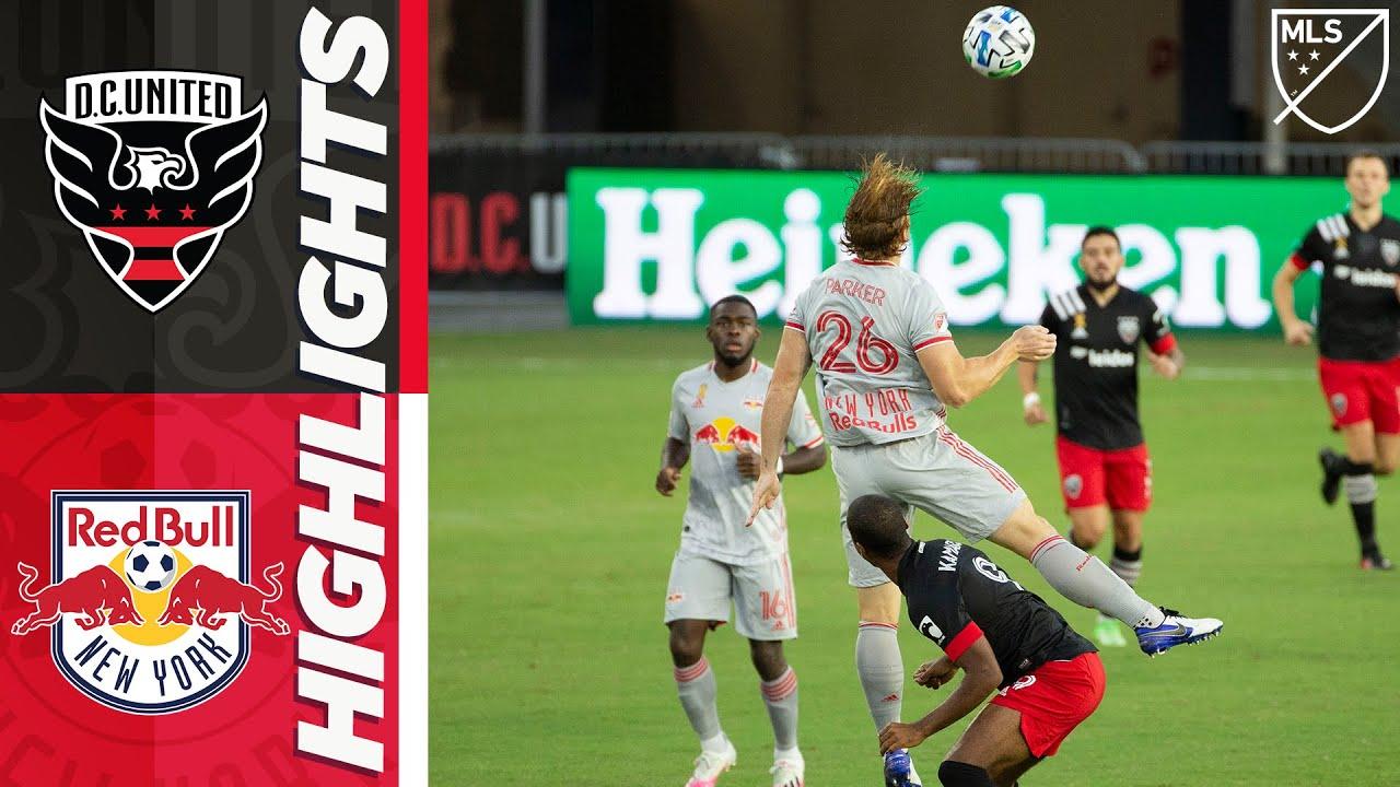 Ди Си Юнайтед  0-2  Нью-Йорк Ред Буллз видео