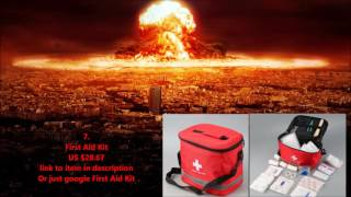TOP10 Basic items you must own to survive World War 3
