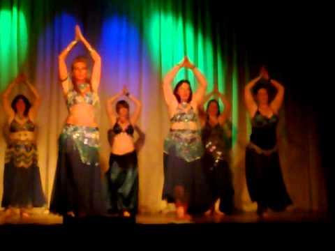 Zubaidah Belly Dancers performing to Asoufak Youm, Hoda
