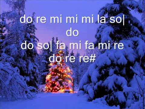 villancicos de navidad en flauta: