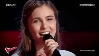 GABRIELA MUNTEANU - Bolnavi Amindoi &amp Irina Rimes VOCEA ROMANIEI 12 Octombrie 2018