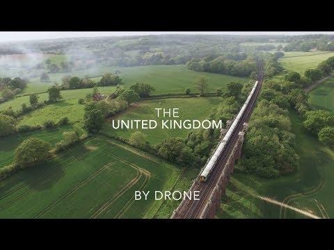 The United Kingdom By Drone // DJI Phantom 3 Standard