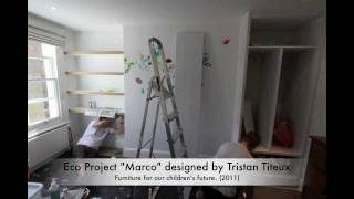 "Video 5 Eco Children's Bedroom Project ""marco"" Eco Fitted Bedroom Furniture"