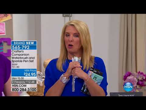HSN | Crafter's Companion 08.16.2017 - 12 AM