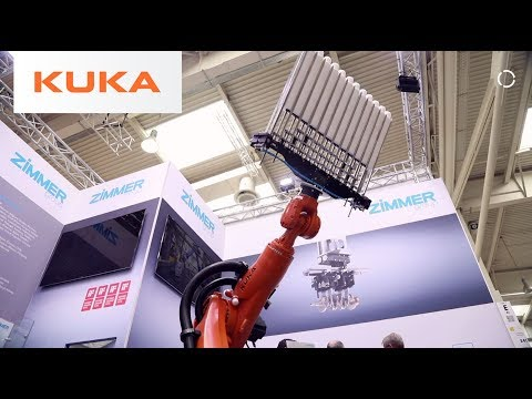 Partner Highlight | Zimmer Group | KUKA @ Hannover Fair 2018