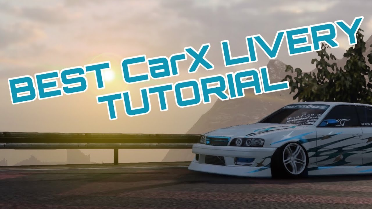 Download CarX Drift Racing Livery Tutorial In FULL Depth