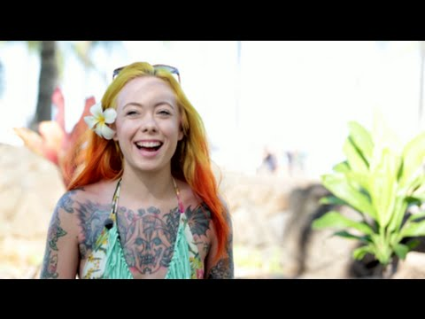 Megan Massacre Island Experiane at Pacific Ink and Art Expo 2014