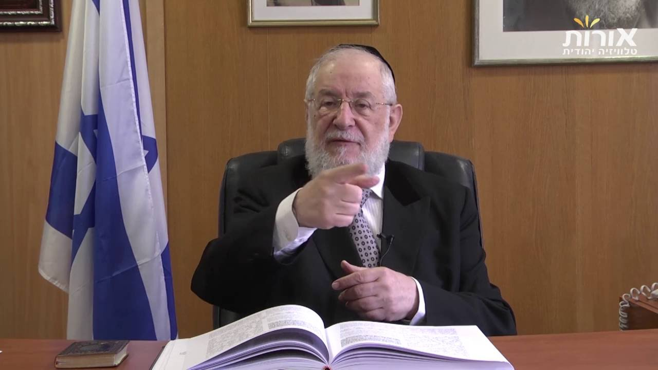 Why do I need this people? /Rabbi Lau on Parashat Behaalotecha