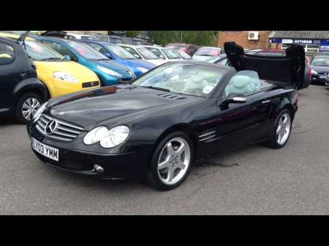 Mercedes-Benz SL Sl500 Convertible For Sale at Gatwick Motor World