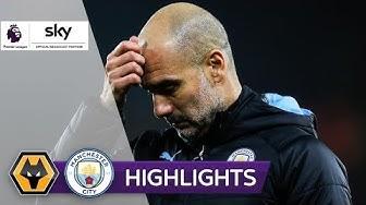 Zehn Citizens verspielen Führung | Wolverhampton - Man City | 3-2 | Highlights - Premier League