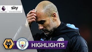 Zehn Citizens verspielen Führung | Wolverhampton - Man City | 3-2 | Highlights - Premier League