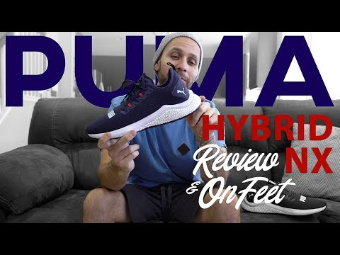 PUMA HYBRID NX REVIEW & ON FEET - YouTube