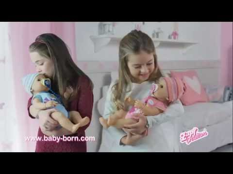 Zapf Creation Baby Born Real Life Like Interactive