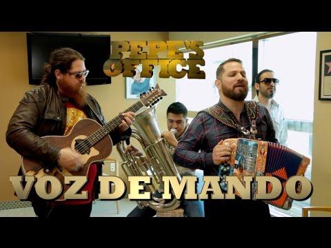 VOZ DE MANDO CON DISCO NUEVO - Pepe's Office