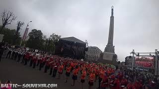 Парад оркестров, Рига / Orchestra parade, Riga / Orķestra parāde, Rīga (Final)