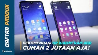 5 HP XIAOMI RAM 4GB & 6GB TERBAIK 2018!.