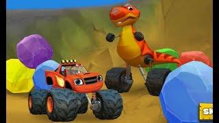 вспыш и чудо машинки в долине динозавров 1 мультики про машинки смотреть онлайн гонки blaze