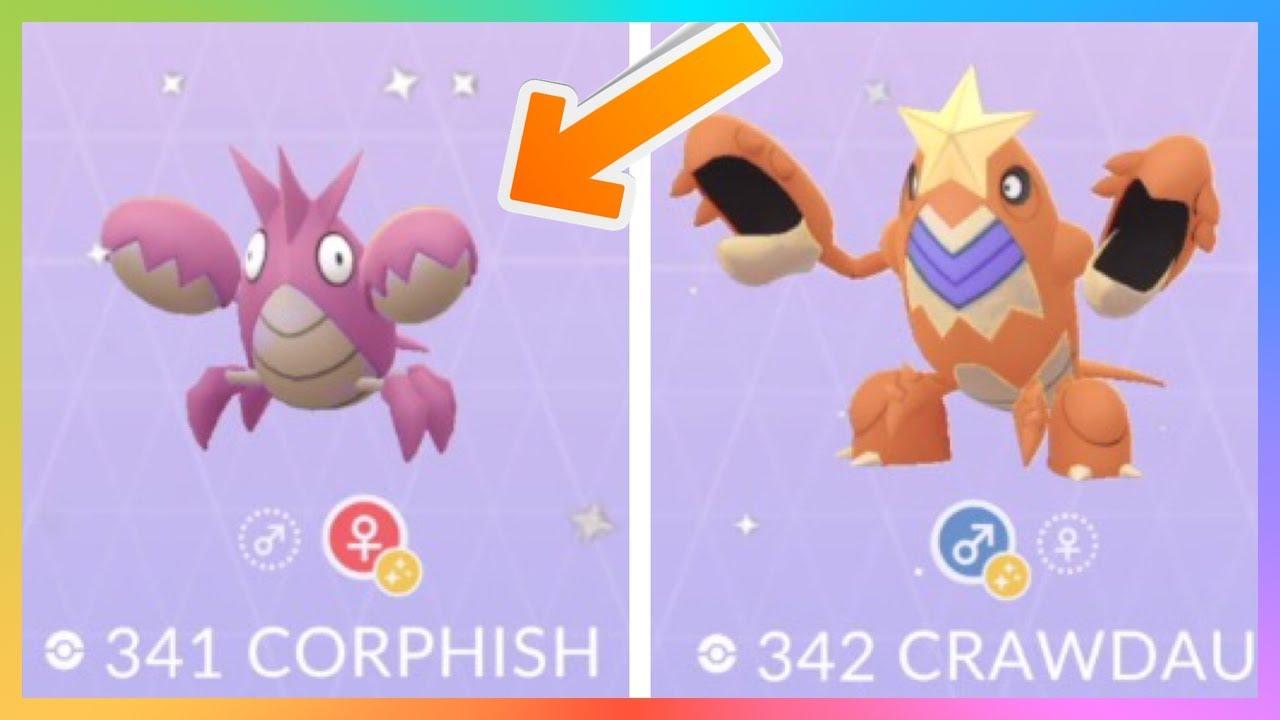 Corphish Pokédex: stats, moves, evolution & locations ...